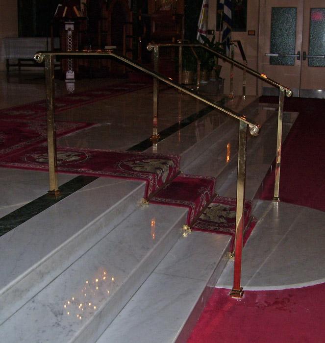 CS Brass handrail 2