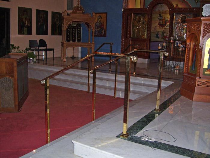CS Brass handrail 3