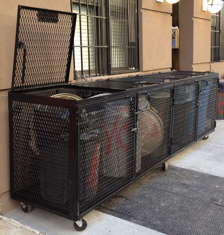 DD Trash enclosure 2