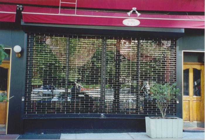 Grill Rolldown Gate