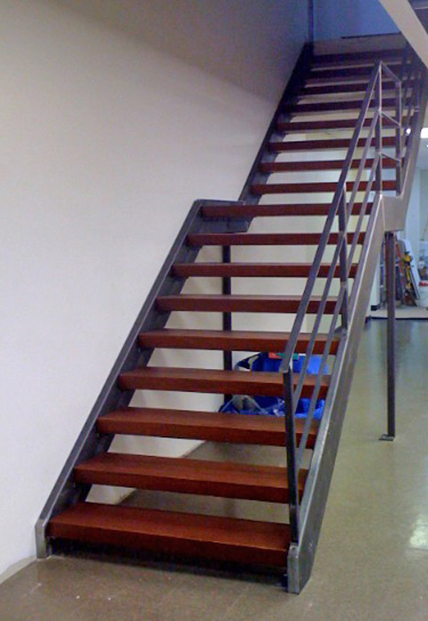 JS custom stair and rail