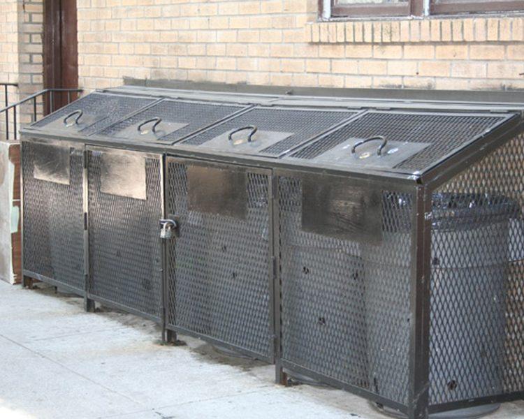A Standard Trash Enclosure Kaufman