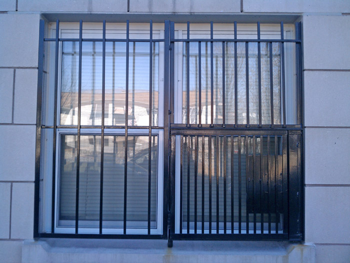 NYPG-SBG Exterior Gate for Double Window