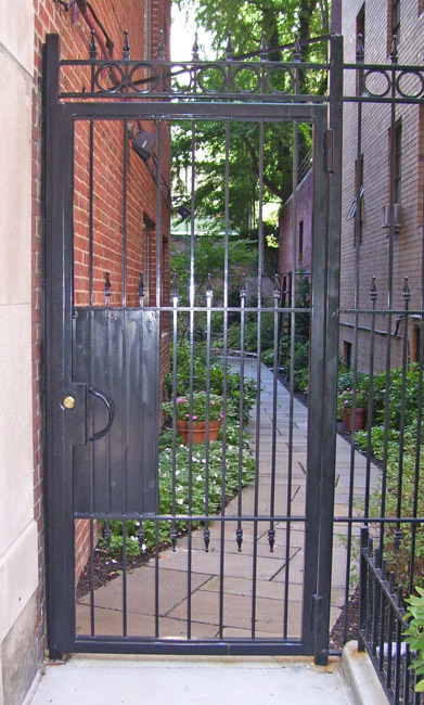 SPS Courtyard Gate 2