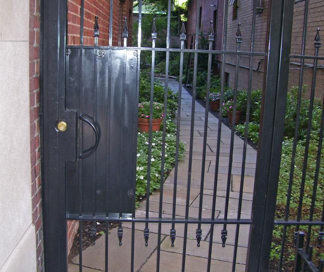 SPS Courtyard Gate 3